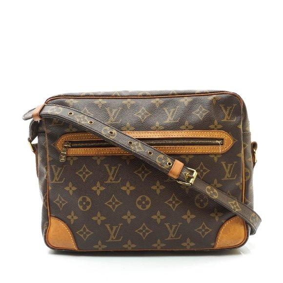 Auth Louis Vuitton Senlis Crossbody Bag #6471L30
